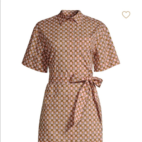 947dbbc98cd Burberry Addy Checked Shirt dress